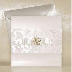 beautiful luxury wedding invitions