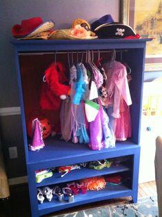 Entertainment Center to Dress-up closet