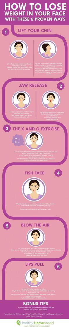 6 Proven Ways to Lose Weight in your Face #Infographics - Fitness is life, fitness is BAE! <3 Tap the pin now to discover 3D Print Fitness Leggings from super hero leggings, gym leggings, fitness, leggings, and more that will make you scream YASS!!!