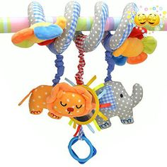 Features: - Brand new and high quality! - The toys can be #hung on the bed crib or the pram to give your #baby more fun. - The toys are made of cloth with differe...