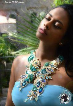 """Serena Di Mercione """"PANAREA"""" Necklace"""