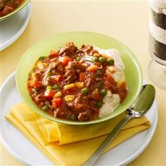 Stovetop Goulash Recipe -I created this recipe after trying goulash at a local restaurant. The blend of spices gives it great flavor, and it's so easy to make on a weeknight! —Karen Schelert, Portland, Oregon