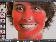 How to use iPhoto to edit portraits