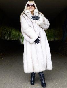 Brand New Silver/Black/White Fox Fur Jacket/Stroller/Coat | White ...