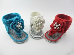 >> Click to Buy << Crochet baby sandals, crochet baby shoes,flip flop,Pearls sandals,Baby Girl Shoes,Newborn sandals shower gift Size:9cm,10cm,11cm #Affiliate