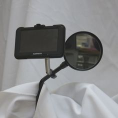 URBAN Diamond Garmin Nuvi GPS Motorcycle Mount w/Extension - Mirror Stem (Black) Have you ever wanted to mount your Garmin Nuvi GPS higher so you could see it b