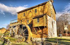 Old mill in Lexington, VA