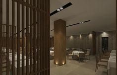 CJC Interior Design | Hotel Crowne Plaza | Wood | Dining Area | Elegant | Algarve