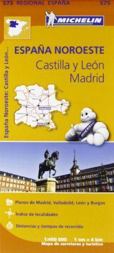 Mapa Castilla Y León. Madrid (Carte regionali)