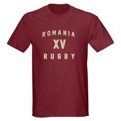 Ruggershirts Romania Rugby Dark T-Shirt