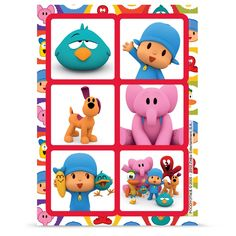 Pocoyo Stickers, 83420