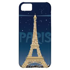 Eiffel Tower Sparkle iPhone 5C Barely There case iPhone 5C Covers