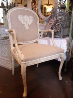 French Roccoco Chair DISCOUNT COUPON AVAILABLE by krw062 on Etsy, $799.00