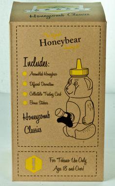 Original Honeybear Smoking Set - Back of Box Honeycomb, Smoking, Stickers, The Originals, Box, Classic, Artwork, Cards, Derby