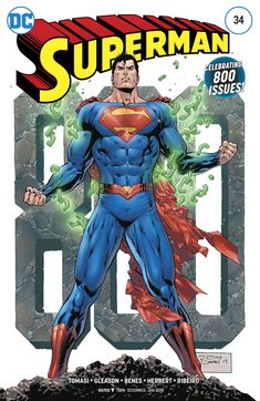 Superman (2016) Issue #34 - Celebrating 800 Issues!