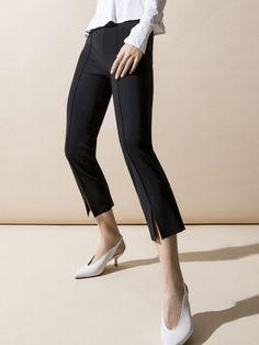 CARBON38 FEMME MODERNE Cigarette Pant Black PANTS