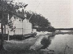 Openlucht zwembad 'Staalbergven' in de bossen in Oisterwijk. #oisterwijk #historie #geschiedenis