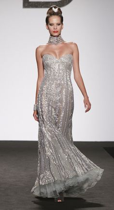 like the petticoat effect at bottom for movement and shape. Renato Balestra