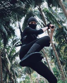 Ninja Japan, Ninja Training, Shadow Warrior, Figure Poses, Female Fighter, Ninja Warrior, Action Poses, Martial Arts, Samurai