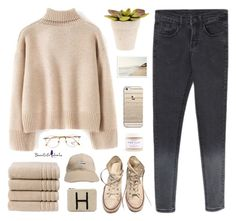 """Beautifulhalo #14"" by keziakaligis ❤ liked on Polyvore featuring Converse, Persol, Christy, Casetify, Akira Black Label, women's clothing, women, female, woman and misses"