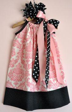 Pink Pillowcase Dress