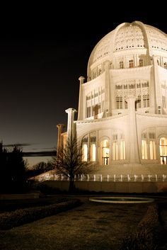 From my collection, Baha'i Temple in Wilmette, IL