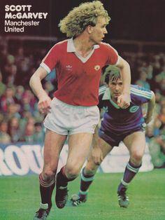 Scott McGarvey Manchester United 1982