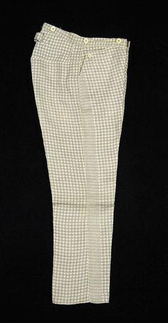 1863 Cotton Trousers MET Museum