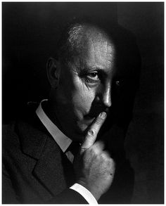Christian Dior by Yousuf Karsh, 1954.