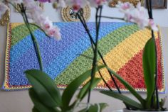 Diagonal Rainbow Baby Blanket 4 1024x688 The Stunningly Beautiful Crochet Baby Blanket You Need in Your Life
