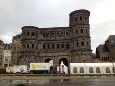 Trier, Germany. Oldest town in Germany. Ancient imperial baths.