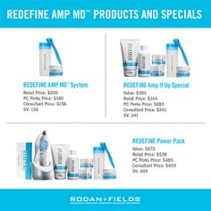 "January 1st 2014 marks the official return of the ""best spent minute in skincare"" and the AMP MD System is now part of our ongoing product portfolio and available to you via these exclusive specials.  ""Like"" my FB Page at www.facebook.com/JennyOBrien.RFConsultant"
