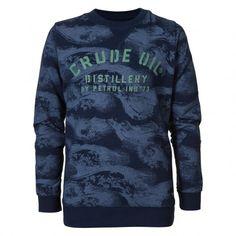 Petrol Industries SWR329 sweater junior deep capri De Wit Schijndel