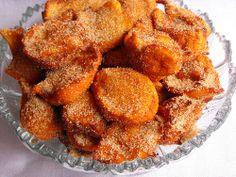 Fritos de queijo quark by a galinha maria, via Flickr