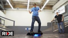 In a new video by The RIDE Channel, skateboarding legend Tony Hawk takes the Hendo Hover (previously) for a spin, riding the real-life hoverboard on a small copper half-pipe specially designed for ...