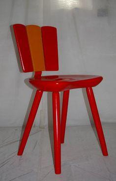 upcycling alter stuhl regal wandregal garderobe von schl ter kunst und design st h alte. Black Bedroom Furniture Sets. Home Design Ideas