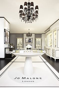 Jo Malone boutique in Covent Garden, London.  oh, how i love these fragrances!
