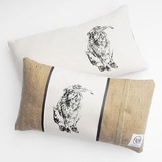 Hare Cushion - cushions