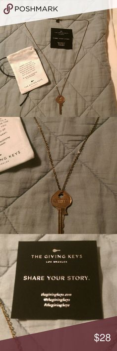 The Giving Keys necklace The giving keys long dark gold tone necklace . the giving keys Jewelry Necklaces