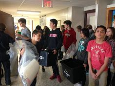 Student's recycling at Frank Ryan School ( Catholic Social Teaching, Citizen, No Response, Leadership, Recycling, Student, School, Life, Twitter