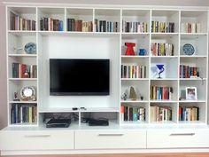 kitaplık ve tv ünitesi