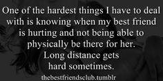 best friends, best girl friend, long distance, hurt, friendship