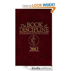 The Book of Discipline of The United Methodist Church 2012 ($12.49)