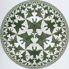 Escher art   Maurits Escher   COMICSANDO comic art blog