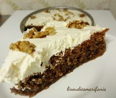 Greek Desserts, Whipped Cream, Pie, Sweets, Recipes, Food, Breads, Cakes, Torte
