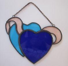 Double Heart Suncatcher