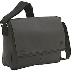 Ben Sherman Canvas Laptop Messenger Bag - eBags.com ($20-50) - Svpply Laptop Messenger Bags, Ben Sherman, Satchel, Canvas, My Style, Ideas, Products, Tela, Canvases