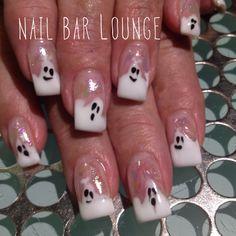 Oh Boo #nails #nailart #naildesign #halloween @nsinails @NSIUK