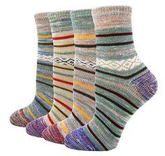 LITTONE Women's Cotton Vintage Design Knitted Soft Crew Socks Cotton Socks, Crew Socks, Vintage Designs, Amazon, Fashion, Moda, Amazons, Riding Habit, Fashion Styles