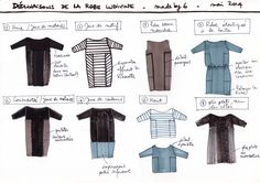 La robe Ludivine - Patron gratuit !! www.madeby6.com